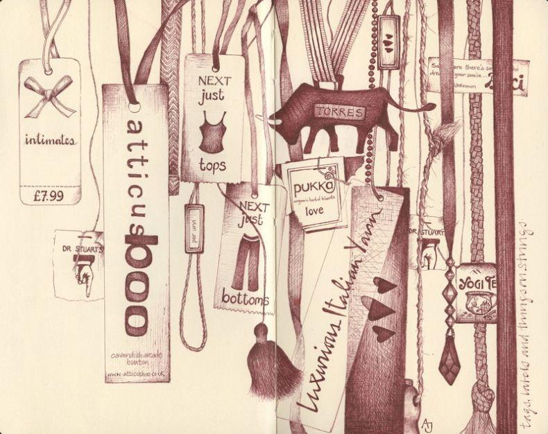 Классные иллюстрации от Andrea Joseph (28 сканов)