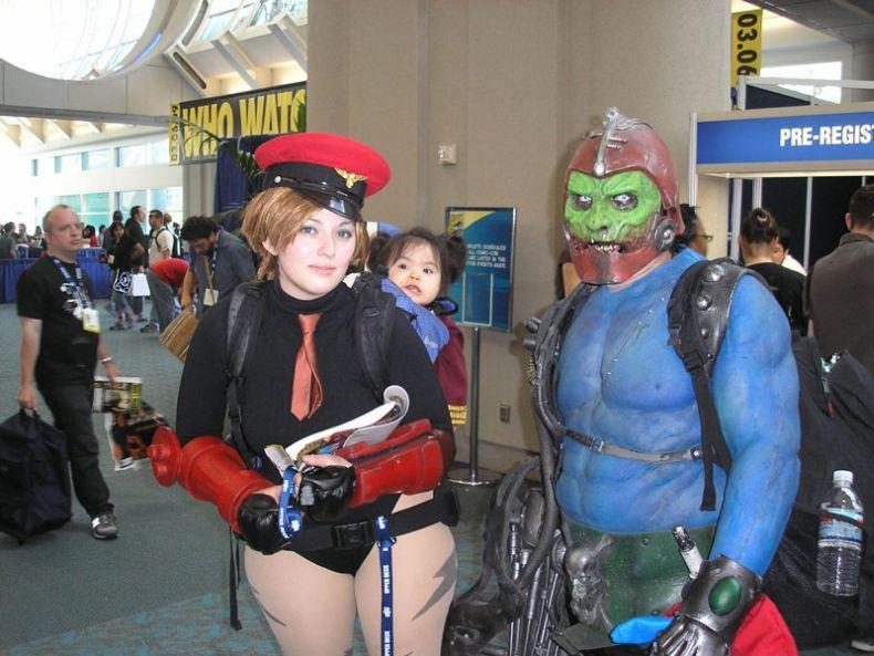 Косплееры с Comic Con 2008 (22 фото)