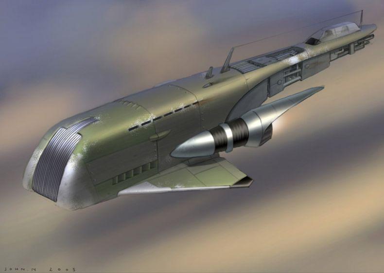 Летательные аппараты будущего (44 картинки)