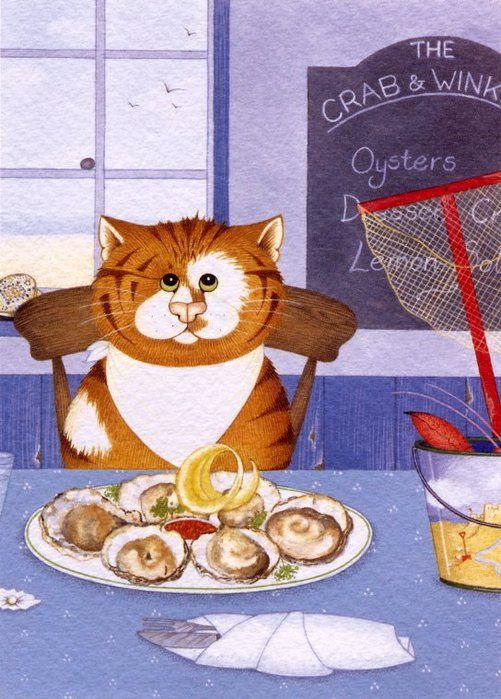 Классные коты от Linda Jane Smith (34 картинки)