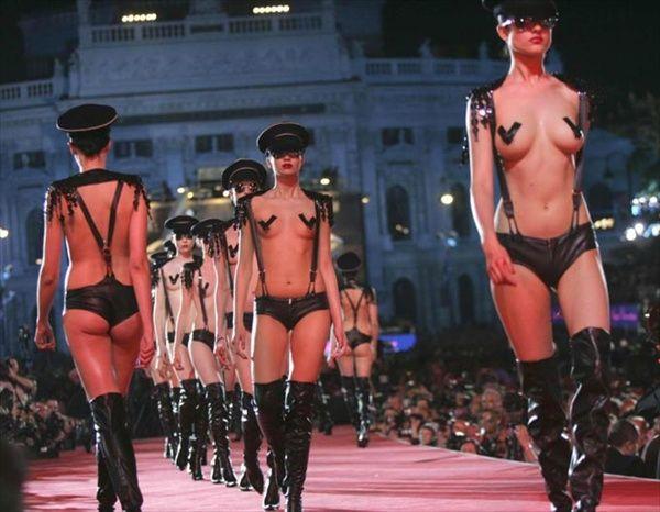 Высокая мода в Вене (30 фото)