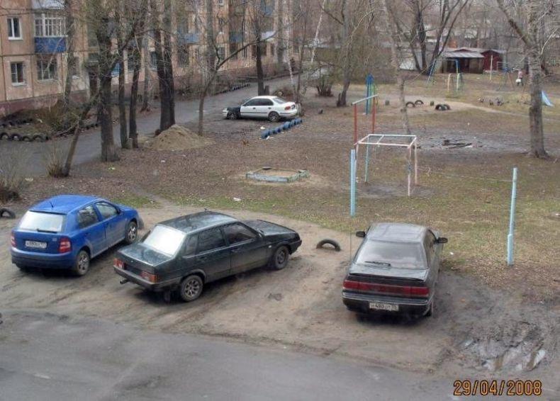 Я паркуюсь как идиот. Часть 2 (17 фото)