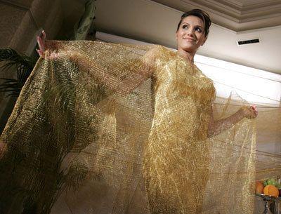 золотое платье купальник из золота.