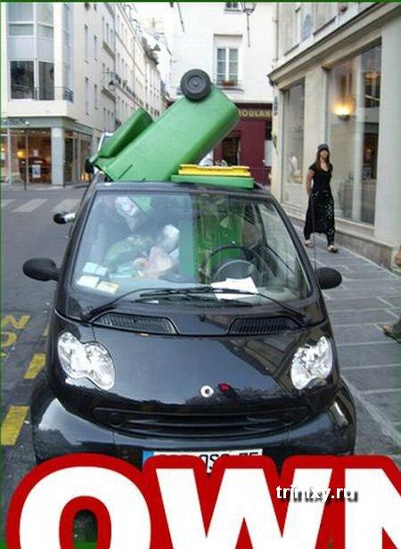 Почему нельзя парковаться где-угодно (5 фото)