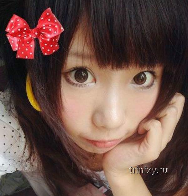 Широкие линзы для глаз в стиле анимэ (8 фото)
