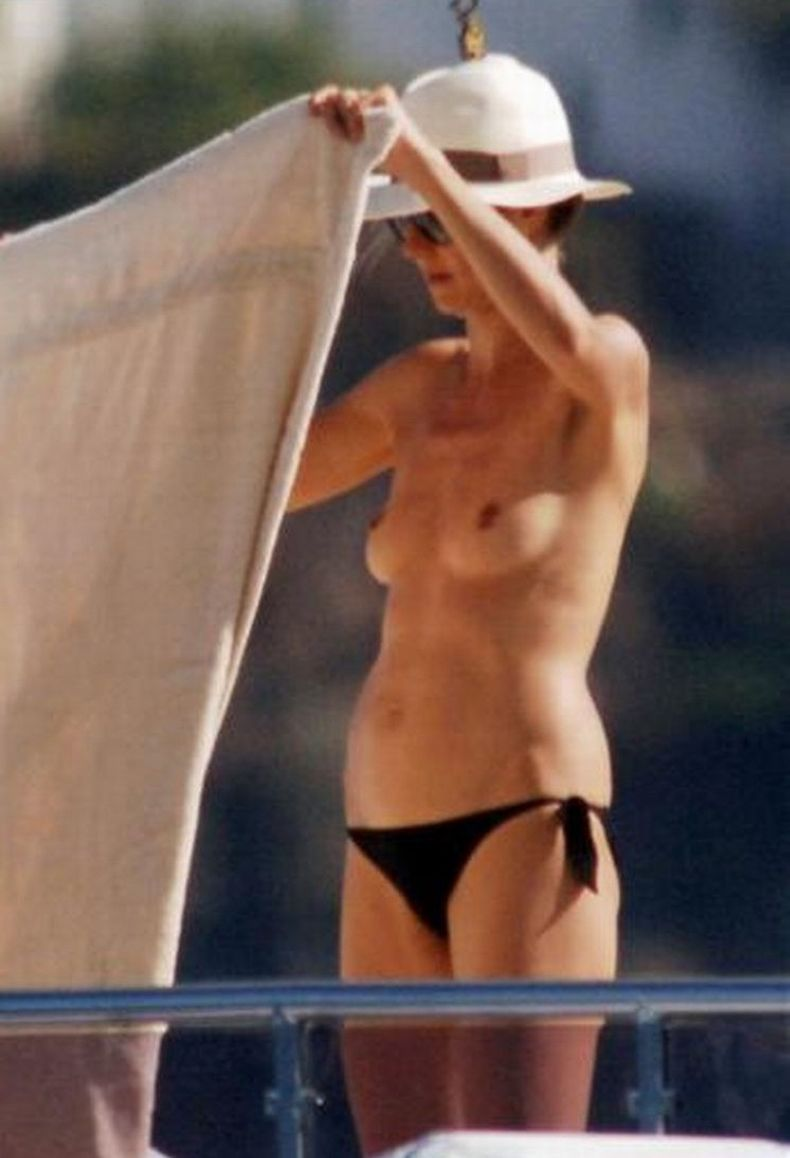 Еще немного Хайди Клум (Heidi Klum) топлесс (9 фото)