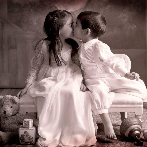 Самый романтический пост дня про поцелуи (37 фото)