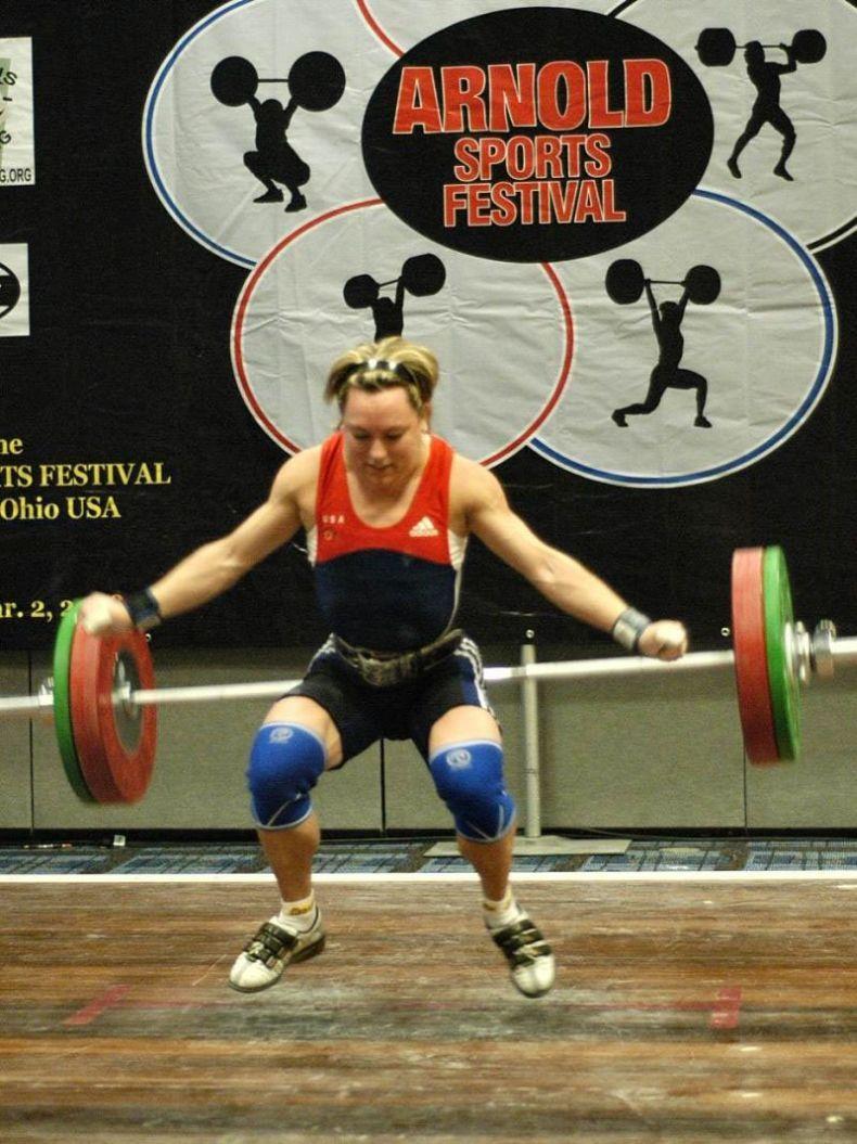 Лица женской тяжелой атлетики (7 фото)