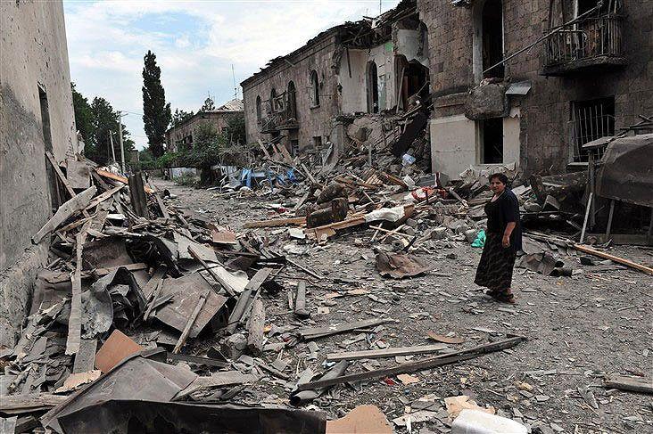 Саакашвили признался, что Украина поставляла оружие для войны 2008 года