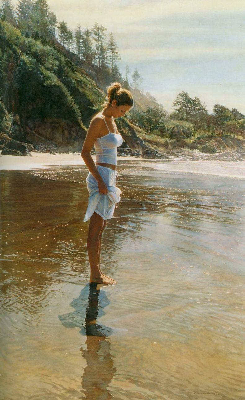Реалистичные акварели Стива Хэнкса (82 рисунка)