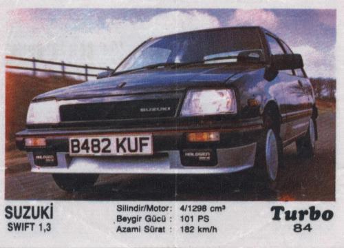 Полная коллекция вкладышей Turbo (329 штук)