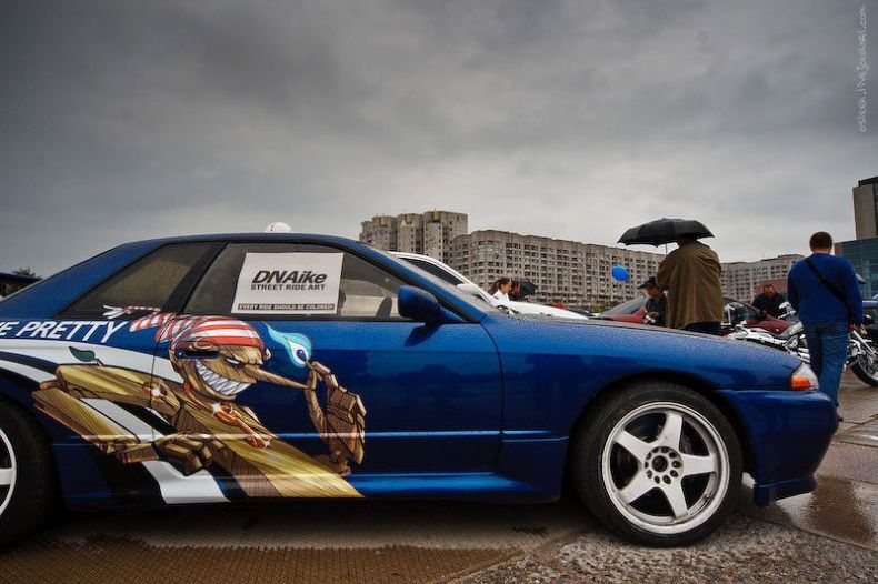 Фестиваль аэрографии в Питере (31 фото)