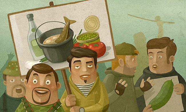Иллюстрации Андрея Гордеева (65 штук)