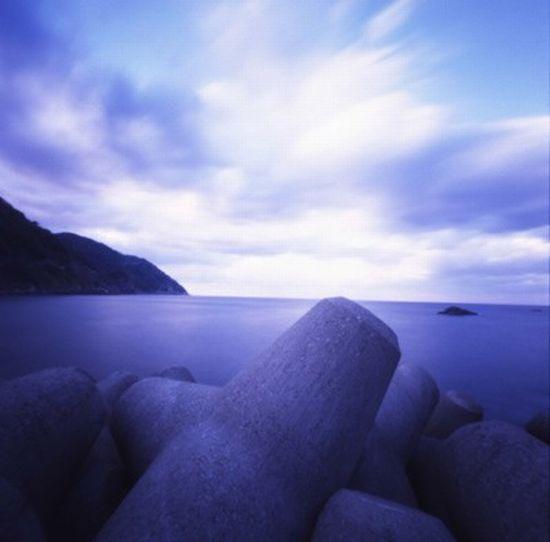 Живописные японские пляжи (13 фото)