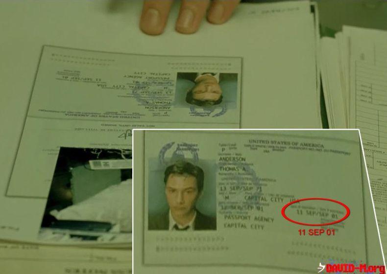 Интересный факт в Матрице (2 фото)