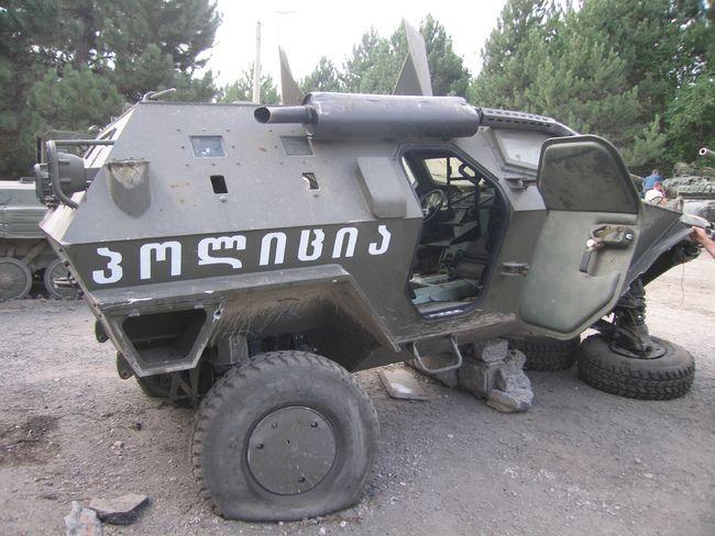 Про турецко-грузинский броневик (5 фото + текст)