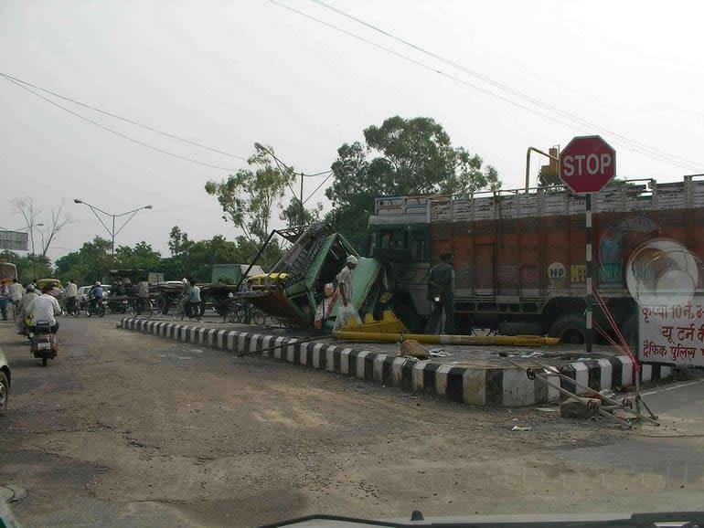 Индийские ДТП (32 фото)