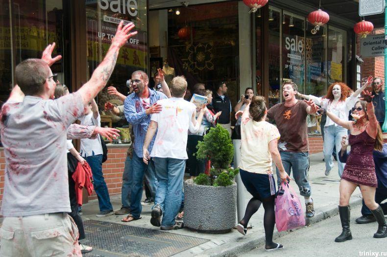 Зомби-парад в Сан-Франциско 2008 (29 фото)