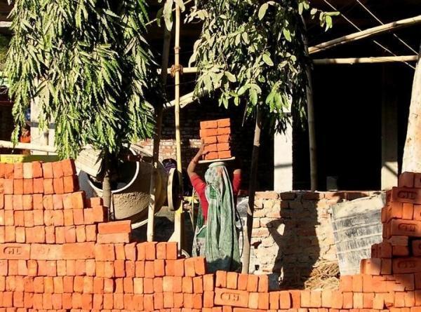 Женский труд в Индии (16 фото)