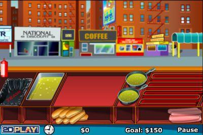 Делаем хот-доги (flash игра)