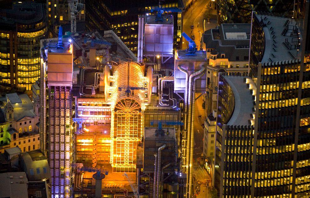 Красивые большие фотографии ночного Лондона (19 фото)