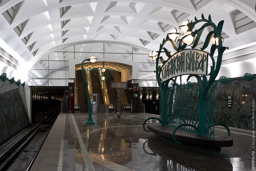 Славянский бульвар - новая станция московского метро (30 фото)