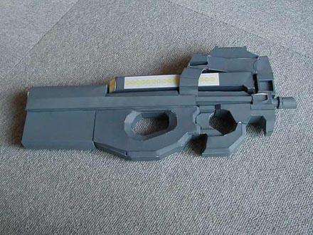 Макет оружия из бумаги