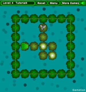 Прожорливая жаба (flash игра)