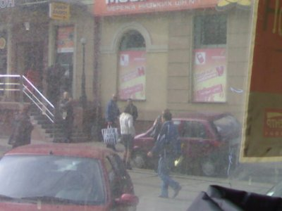 Женщина за рулем )) История из Киева (9 фото)