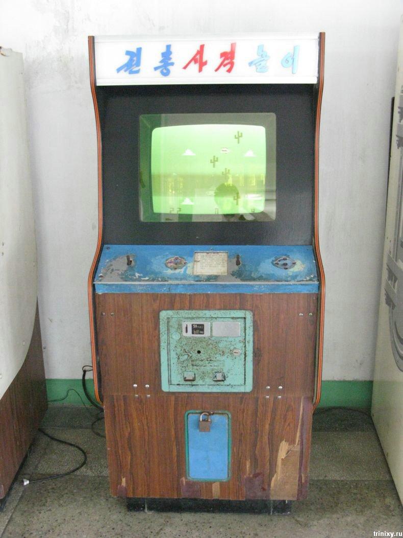 Зал игровых автоматов в Северной Корее (9 фото)