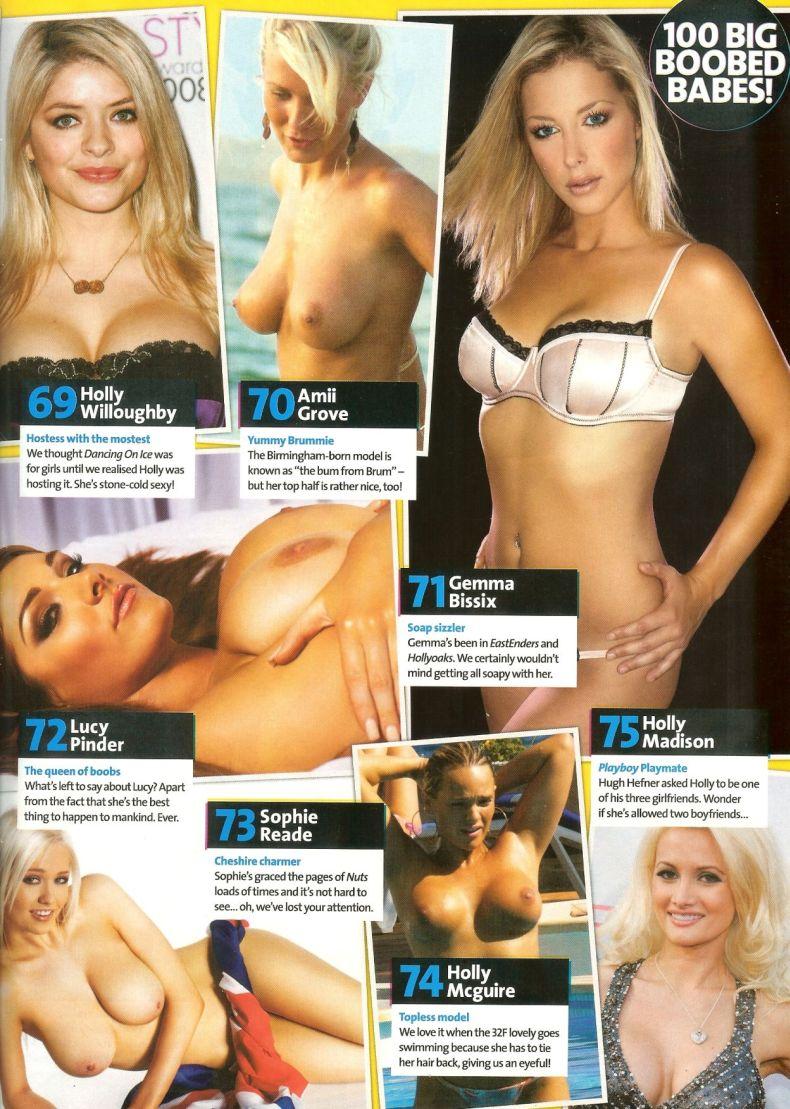 Топ-100 звезд и моделей с большой грудью (18 фото) НЮ