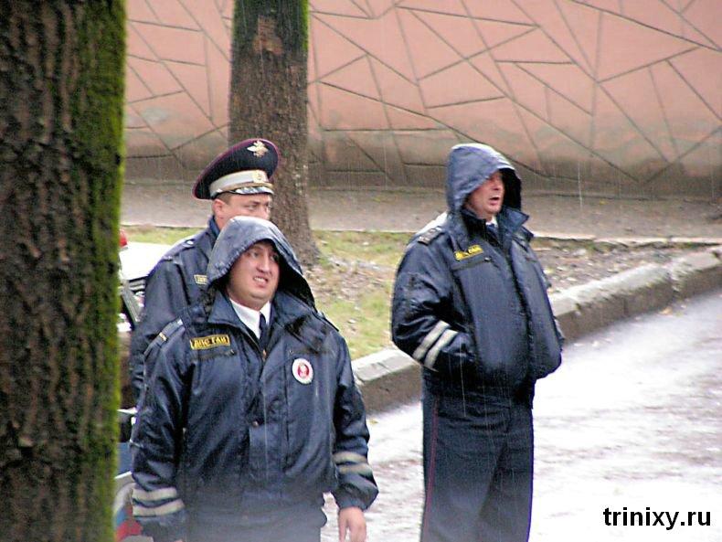 Приколы с работниками ГИБДД, ГАИ, ДПС (120 фото)