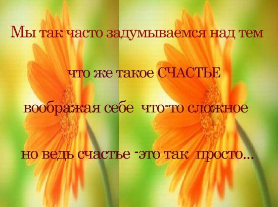 Счастье - это просто...