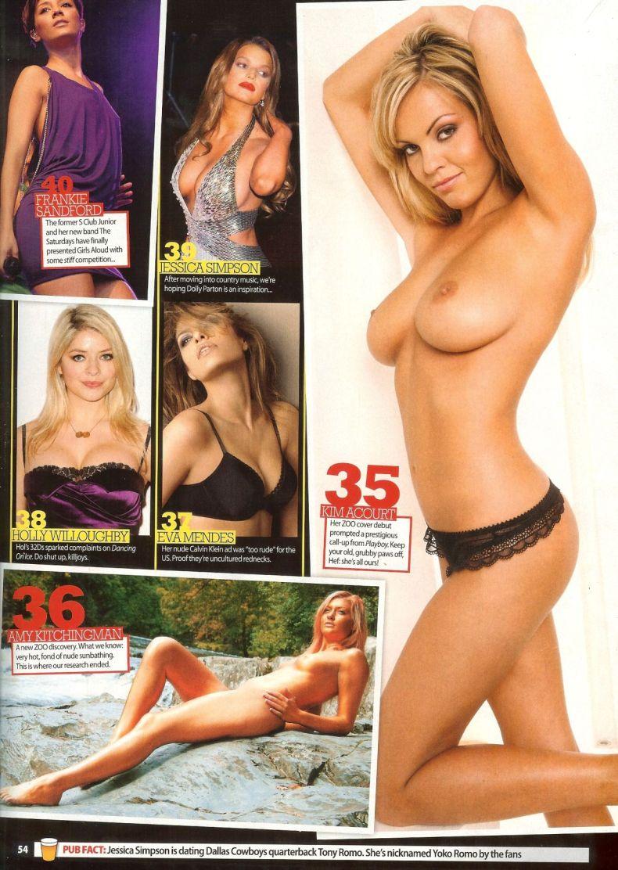 100 самых сексуальных женщин по версии журнала Zoo (18 сканов) НЮ