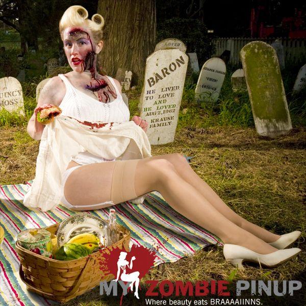 Фото девушки зомби