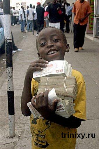 Курс доллара зимбабве