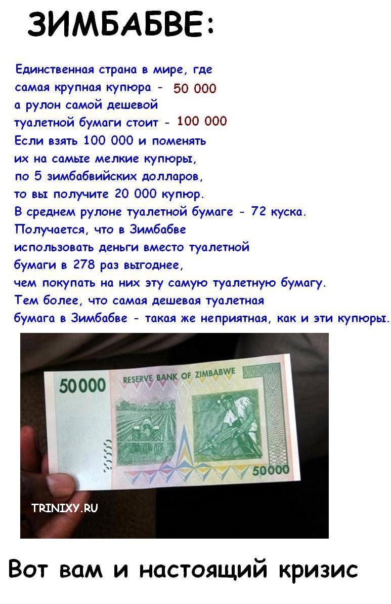 Что такое настоящий экономический кризис!!!