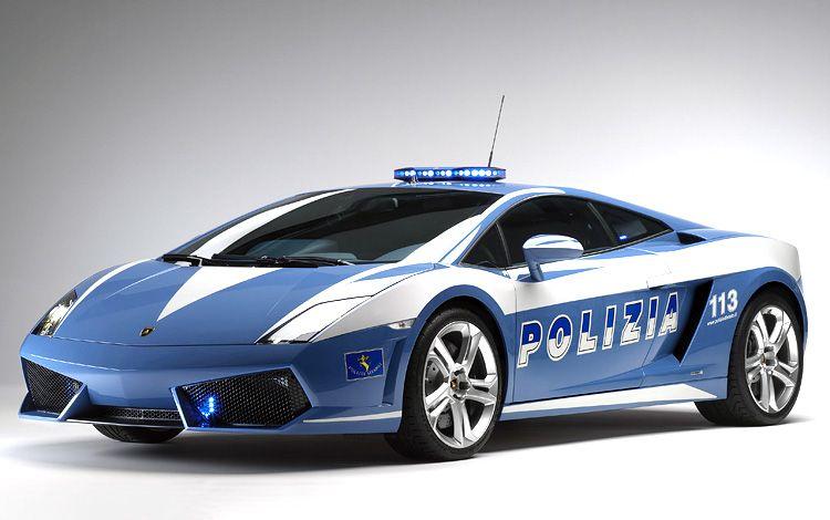 Lamborghini Gallardo LP560-4 Polizia (8 фото)