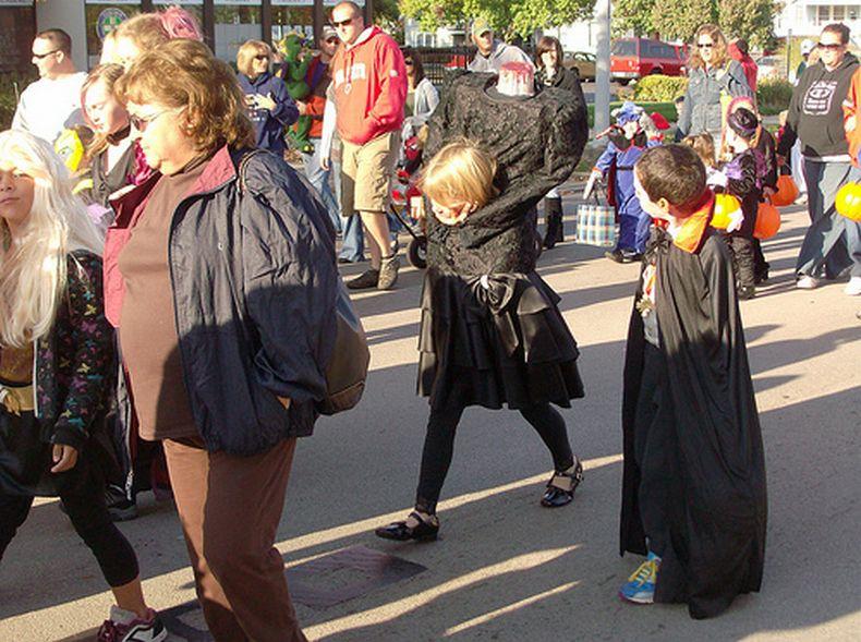 Один из лучших костюмов для Хэллоуина (5 фото)