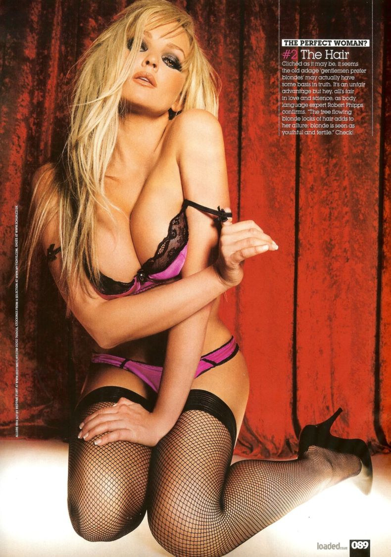 Jennifer Ellison в Loaded (7 Фото)