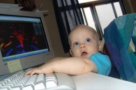 Человек и компьютер (16 Фото)