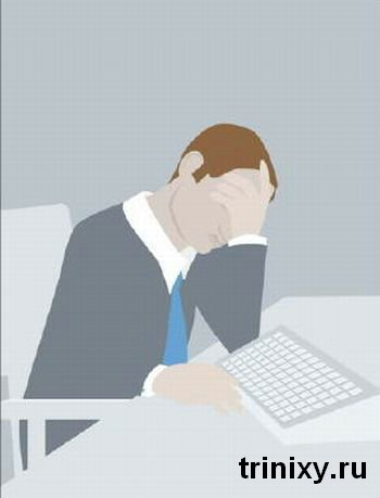 9 способов поспать в офисе (9 фото)