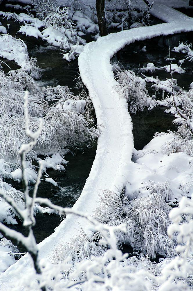 Зимняя Хорватия.