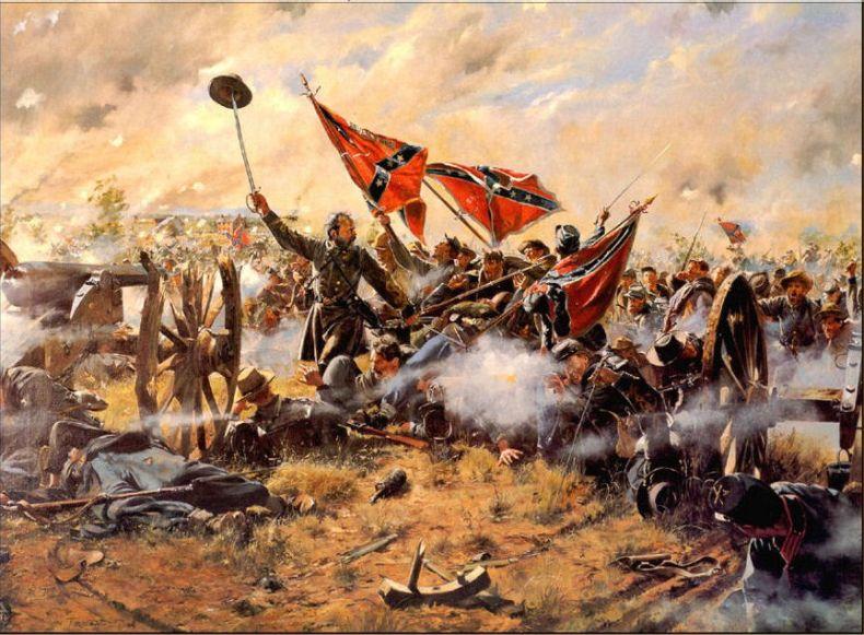 Гражданская война в сша в картинах 49