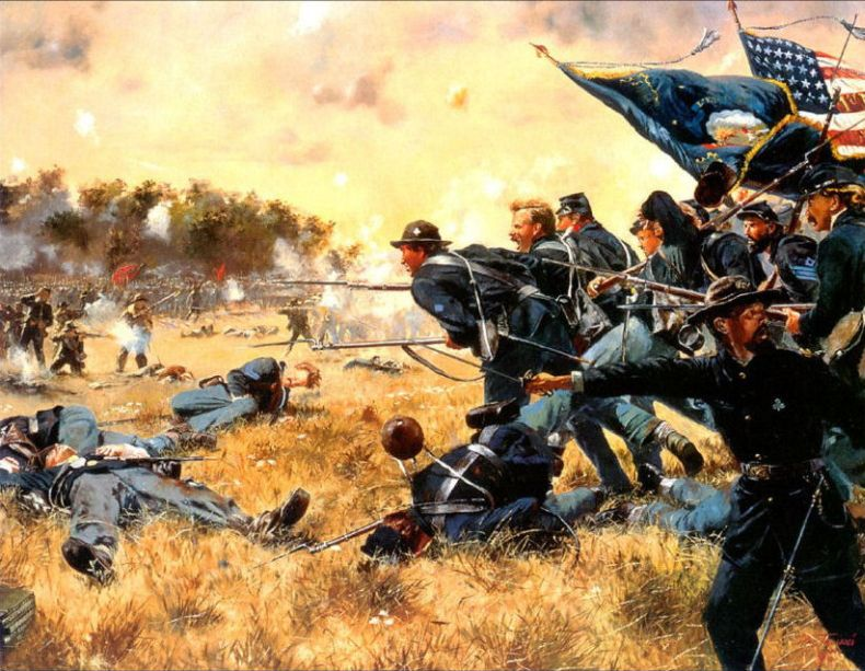 the details of the hot civil war battle that occurred between july 1 ad july 3 1863