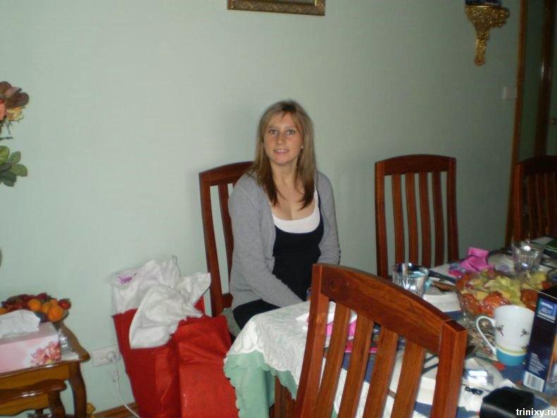Девушка, решившая похудеть (7 фото)
