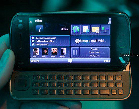 Смартфон Nokia N97 - неожиданная новинка от Nokia (23 фото + 3 видео)