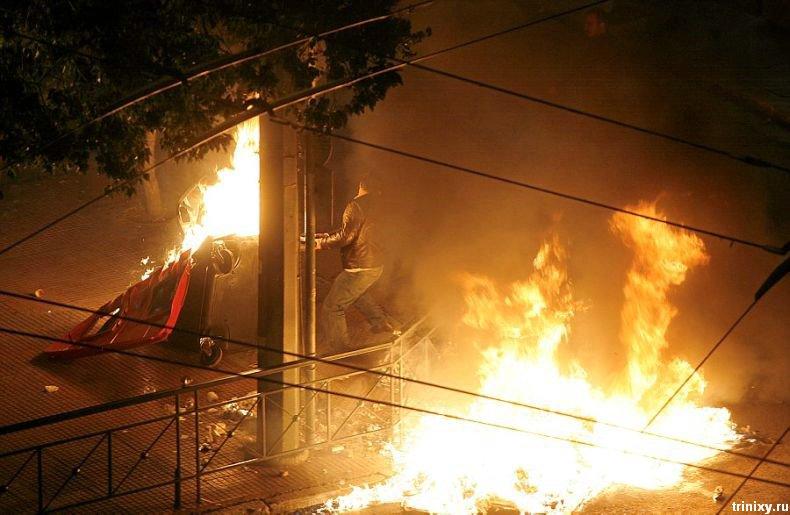 Беспорядки в Греции (54 фото)
