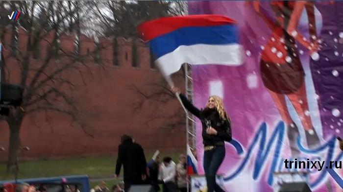 "Случай на конкурсе ""Мисс Конституция"" (6 фото + видео)"