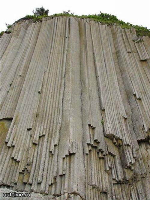Мыс Столбчатый на Курильских островах (16 фото + текст)